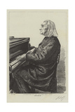 Celebrities of the Day, the Abbe Liszt Giclee Print by Charles Paul Renouard