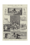 Egypt as it Is Giclee Print by Charles Auguste Loye