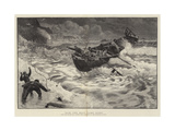 How the Boat Came Home Giclee Print by Charles Napier Hemy