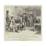 St Katherine by the Tower Giclee Print by Charles Green
