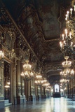 Grand Foyer of Palais Garnier Giclee Print by Charles Garnier