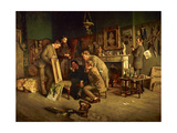 Friendly Critics, 1882-83 Giclee Print by Charles Martin Hardie