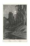 Haunted Giclee Print by Charles Auguste Loye