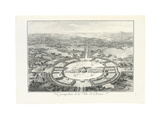 Perspective View of the City of Chaux, 1804 Giclee Print by Claude Nicolas Ledoux