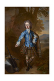 John Campbell, 3rd Earl of Breadalbane (1696-1782) as a Child in Tartan Dress, 1708 Giclee Print by Charles Jervas