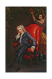 Portrait of Alexander Pope (1688-1744) C.1713-15 Giclee Print by Charles Jervas