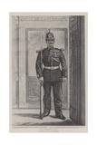 The Guarded Door Giclee-trykk av Charles Paul Renouard