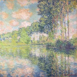 Poplars on the Epte, C.1891 Giclee Print by Claude Monet