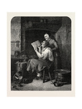 The Coppersmith and His Wife, 1851 Giclee Print by Christian Andreas Schleisner