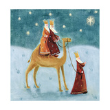 We Three Kings, 2002 Giclee Print by Clare Alderson