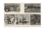 The Greely Arctic Relief Expedition Giclee Print by Charles William Wyllie