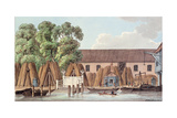 The Old Steel Yard, 1798 Giclee Print by Charles Tomkins