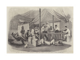 The War in China, Tent of the 15th Punjaubees at Pehtang Giclee Print by Charles Wirgman