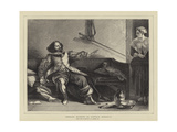 Charles Dickens as Captain Bobadill Giclee Print by Charles Robert Leslie