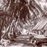 Tuamotus. Tahiti, Late 1800s Photographic Print by Charles Gustave Spitz