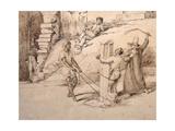 The Punishment of a Slave; O Castigo De Um Escravo, C. 1825-6 Giclee Print by Charles Landseer