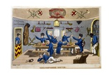 Midshipman's Berth Giclee Print by Charles Williams
