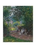In Monceau Park, 1878 Giclee Print by Claude Monet