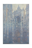 The Portal of Rouen Cathedral in Morning Light, 1894 Giclee Print by Claude Monet