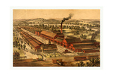 Wason Manufacturing Company of Springfield Giclee Print by Charles Parsons