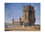 Tower of Belem, C. 1825-6 Giclee Print by Charles Landseer