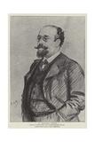M Bernard Lazare Giclee-trykk av Charles Paul Renouard
