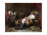 A Scene from Walter Scott's 'The Talisman', C.1840-60 Giclee Print by Charles Landseer