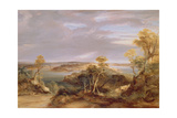 Sydney and Botany Bay from the North Shore, 1840 Giclee Print by Conrad Martens