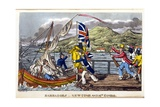 Barbados: Newcome and Mrs Sambo Giclee Print by Charles Williams