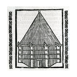 A Hut from 'La Historia General De Las Indias' 1547 Giclee Print by Christopher Columbus