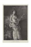 La Pettiniera Giclee Print by Conrad Kiesel