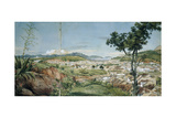 New Town of Rio De Janeiro from the Livramiento, C. 1825-6 Giclee Print by Charles Landseer