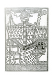 A Caravel from 'La Historia General De Las Indias' 1547 Giclee Print by Christopher Columbus