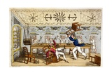 The Ward Room: Newcome and Capt. Clackett Giclee Print by Charles Williams