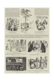 Drawings by the Late Charles Keene Giclee Print by Charles Keene