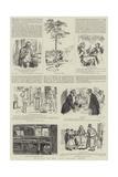 Drawings by the Late Charles Keene Giclee Print by Charles Keene