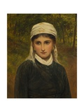 An Italian Lady, 1882 Giclee Print by Charles Sillem Lidderdale