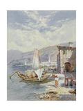 Lake Como Giclee Print by Charles Rowbotham