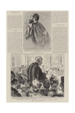 In the Cour De Cassation, M Manau, the Prosecutor-General, Concluding His Speech Giclee Print by Charles Paul Renouard