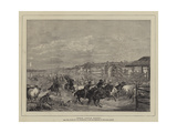 Roman Cattle Market Giclee Print by Charles H. Poingdestre
