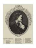 Melancholy Giclee Print by Charles Landelle
