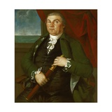 Captain David Coats, C.1775 Giclee Print by Christian Gullager