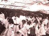 La Fete De Juillet Celebration, Tahiti, Late 1800s Photographic Print by Charles Gustave Spitz