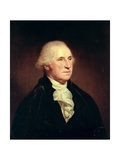 Portrait of George Washington, 1795 Giclee Print by Charles Willson Peale