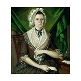 Mrs. David Coats, C.1775 Giclee Print by Christian Gullager