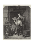 The Coppersmith and His Wife Giclee Print by Christian Andreas Schleisner