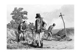 Road Menders, 1812 Giclee Print by Daniel And Robert Havell