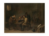 The Gamblers, C.1640 Giclee Print by David the Younger Teniers