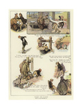 Harry the Tailor Giclee Print by Claude Shepperson