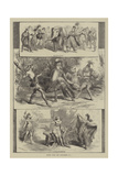 Scenes from the Pantomimes Giclee Print by David Henry Friston